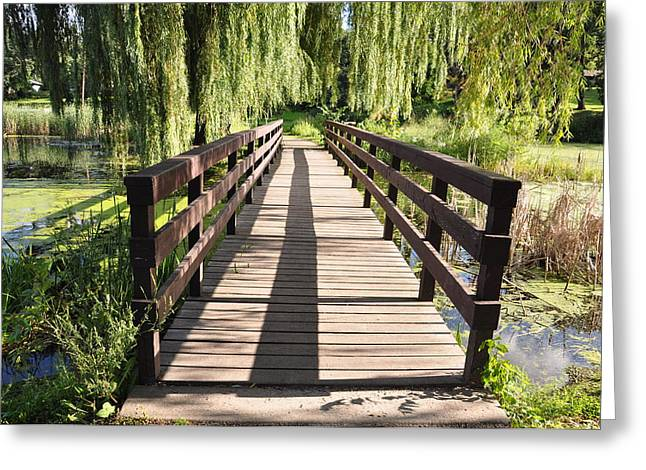 Bridge To Tranquillity Greeting Card