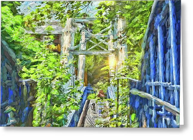Bridge To Your Dreams Greeting Card