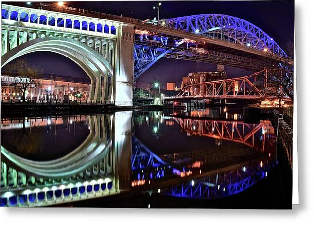 Bridges Greeting Card by Frozen in Time Fine Art Photography