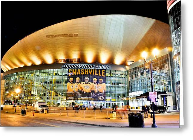 Bridgestone Arena Greeting Card