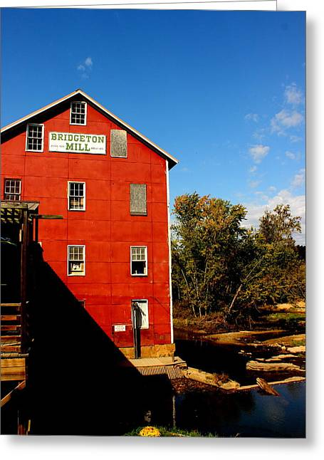 Bridgeton Indiana Mill By Earl's Photography Greeting Card by Earl  Eells a