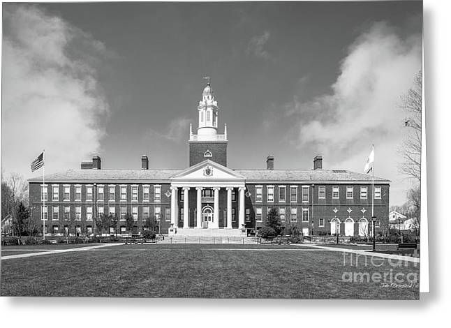 Bridgewater State University Boyden Hall Greeting Card by University Icons