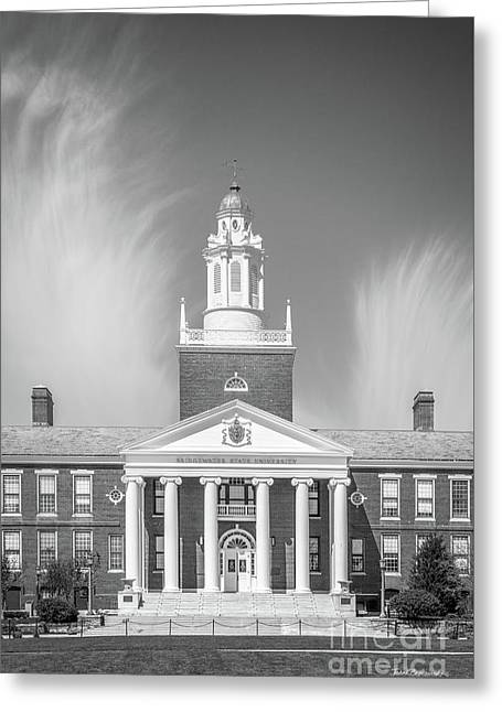 Bridgewater State University Boyden  Greeting Card by University Icons
