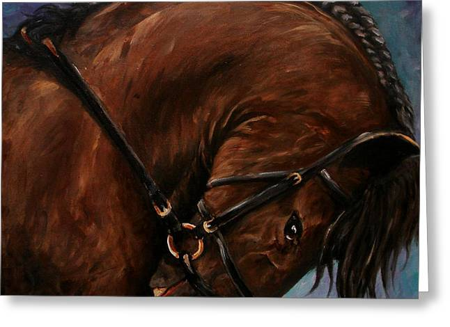 Bridle And Braids Greeting Card by Richard Klingbeil