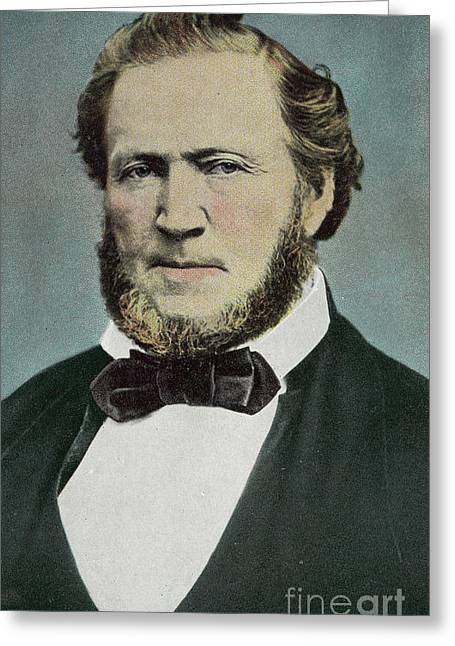 Brigham Young  Photograph Greeting Card