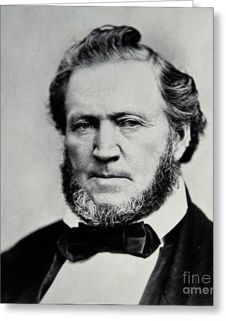 Brigham Young  Second President Of The Mormon Church Greeting Card