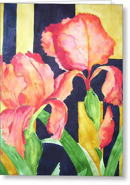 Bright And Bold Greeting Card
