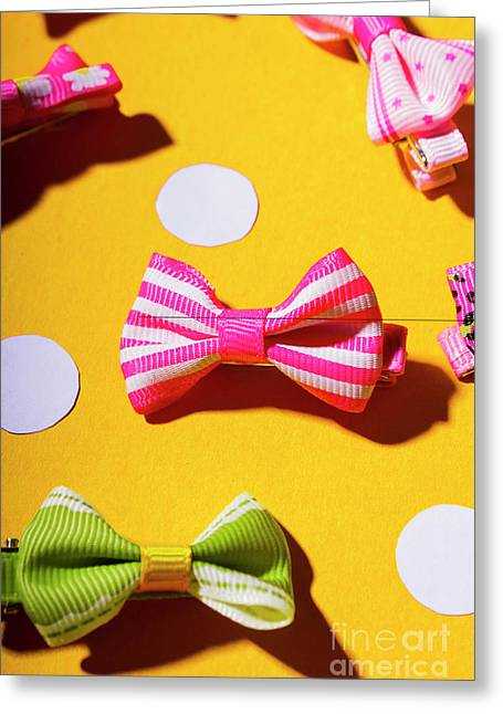 Bright Bow Tie Gallery Greeting Card