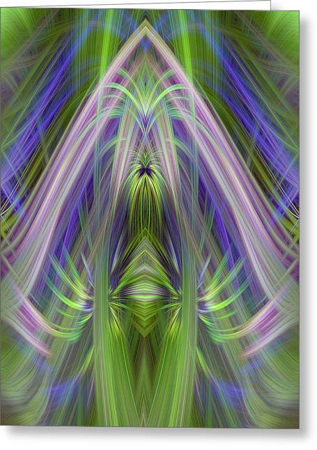 Bright Recolections Greeting Card by Linda Phelps