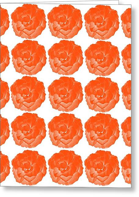 Bright Red Roses Greeting Card by Helena Tiainen
