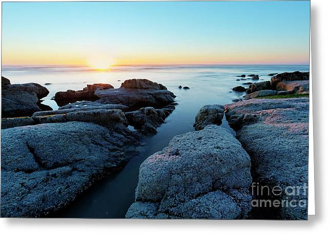 Bright Sunset Greeting Card