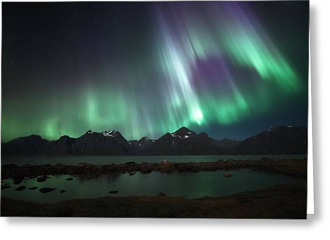 Bright Greeting Card by Tor-Ivar Naess