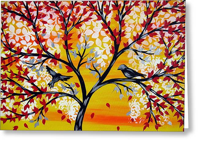 Brighter Days Greeting Card by Cathy Jacobs
