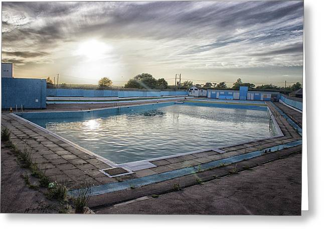 Brightlingsea Lido Greeting Card