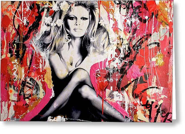 Brigitte Bardot Is In St-tropez Again Greeting Card