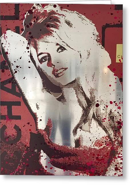 Brigitte -chanel Greeting Card