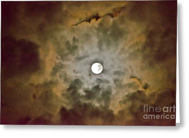 Brilliant Night Sky Greeting Card