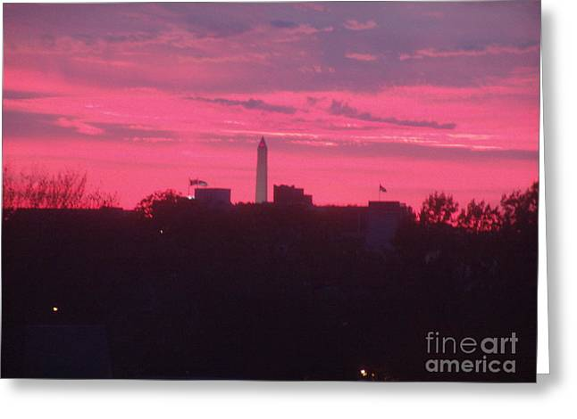 Brilliant Sunset 1 Greeting Card by Rod Ismay