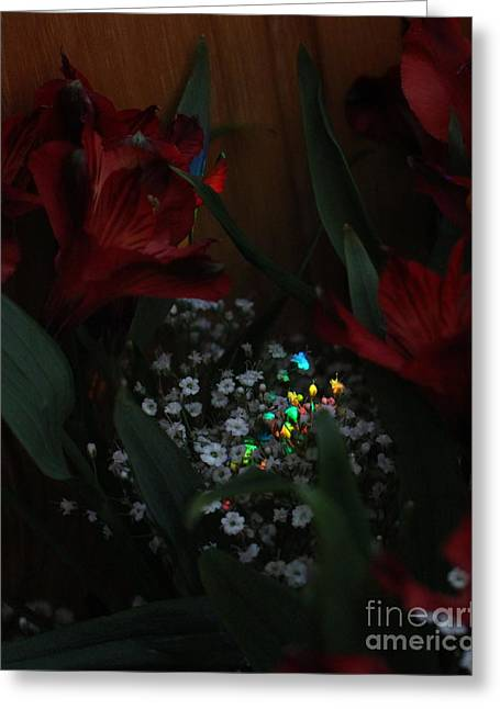 Greeting Card featuring the photograph Brilliantly Shy by Marie Neder