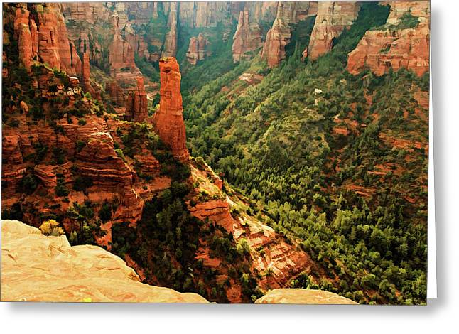 Brins Mesa 07-143 Greeting Card