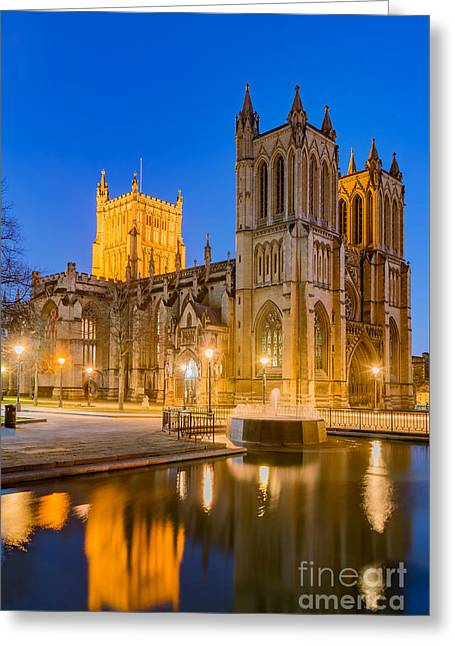 Bristol Cathedral Greeting Card