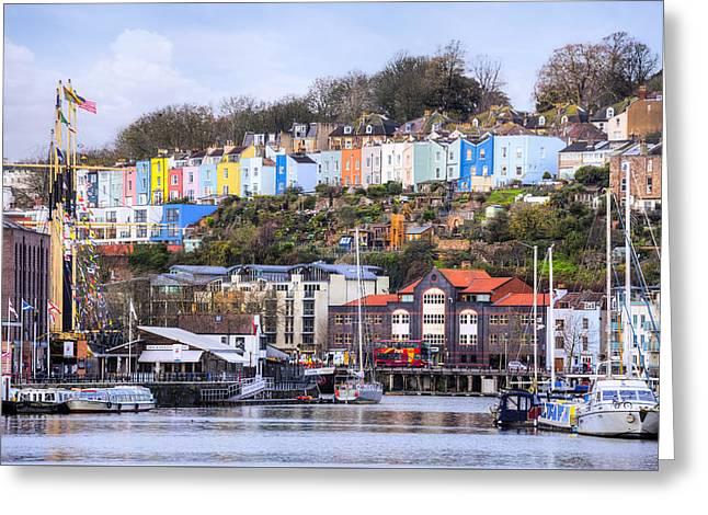 Bristol - England Greeting Card by Joana Kruse