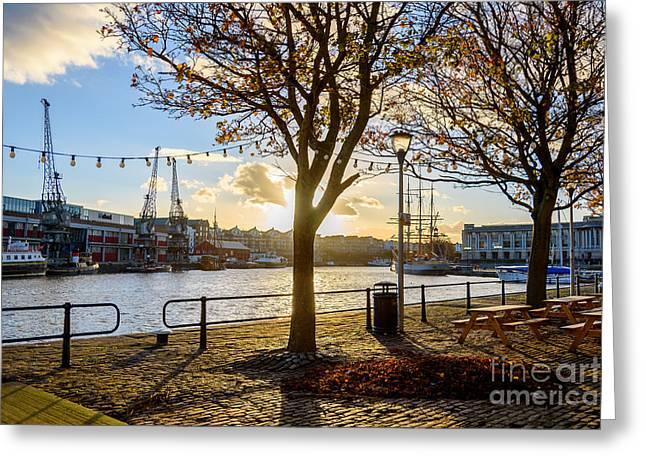 Bristol Harbour Greeting Card