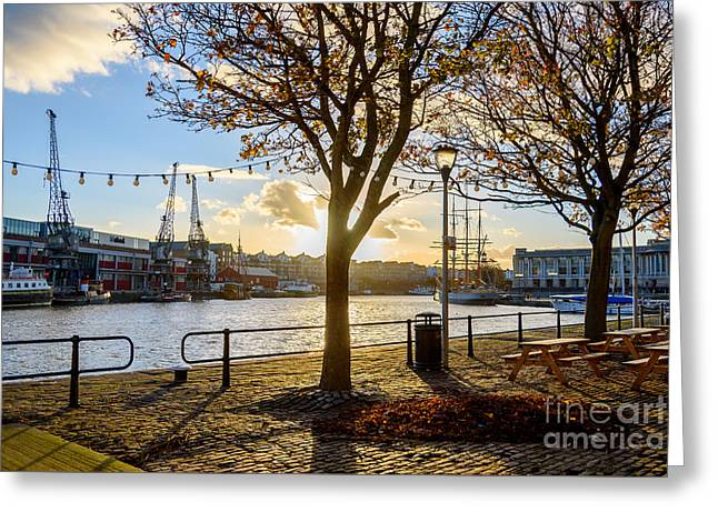 Bristol Harbour Greeting Card