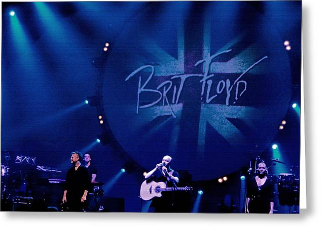 Brit Floyd Space And Time World Tour 2015.3 Greeting Card