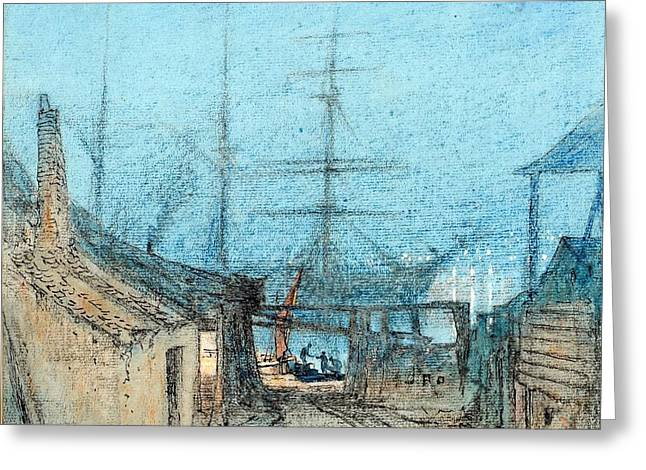 British Chatham Dockyard Greeting Card by MotionAge Designs