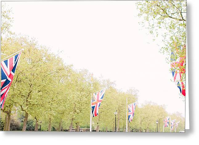 British Flags Greeting Card