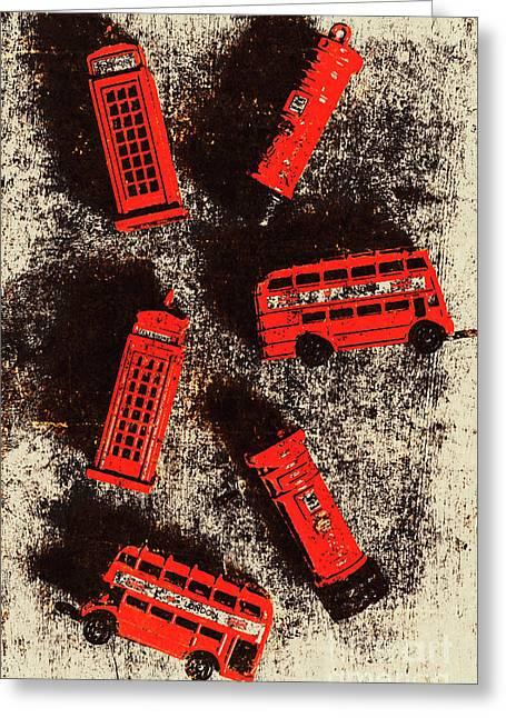British Memories Greeting Card
