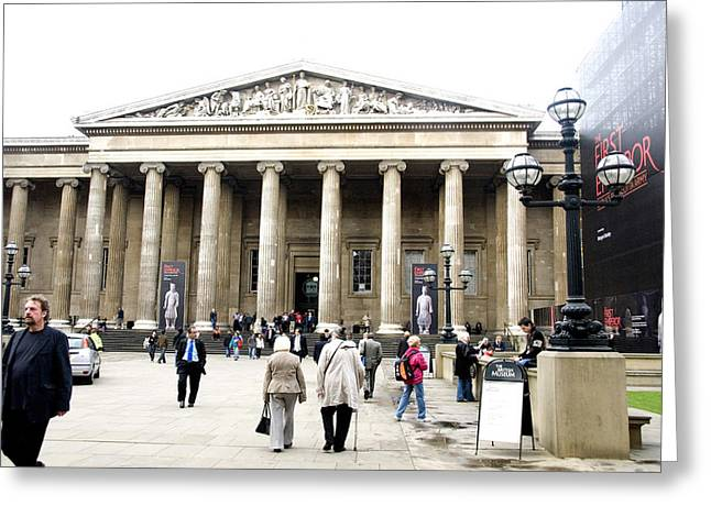 British Museum 3752 Greeting Card by Charles  Ridgway