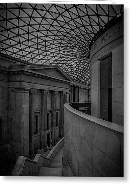 British Museum Greeting Card by Martin Newman