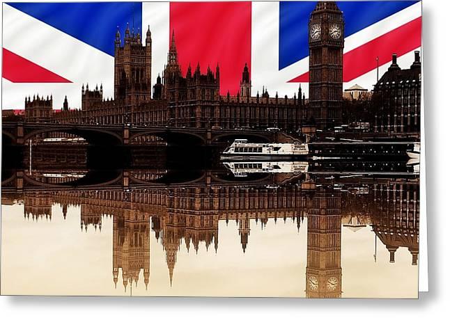 British Politics Greeting Card