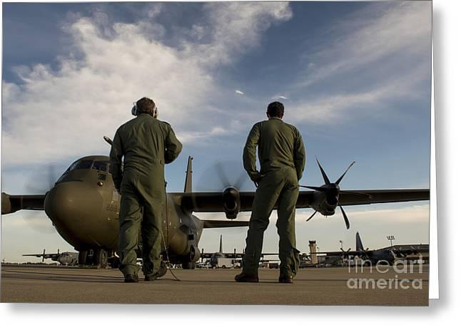 British Royal Air Force C-130j Greeting Card by Stocktrek Images