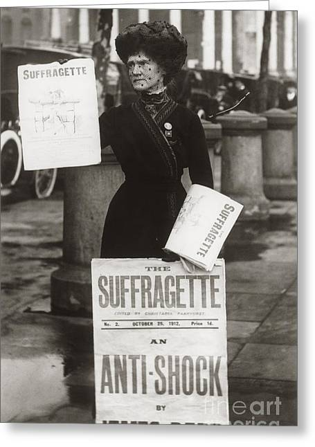 British Suffragette, C.1900s Greeting Card by Vintage Images/ClassicStock