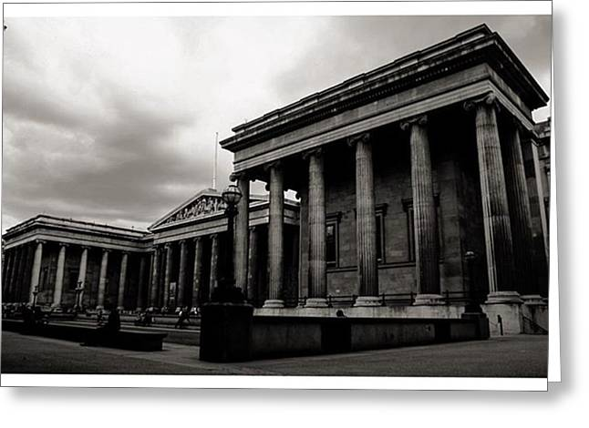 #britishmuseum #london #thisislondon Greeting Card