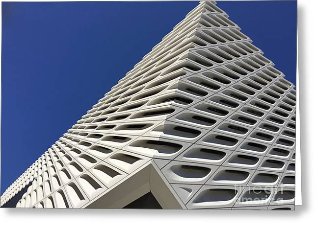 Broad Museum Greeting Card by Maureen J Haldeman