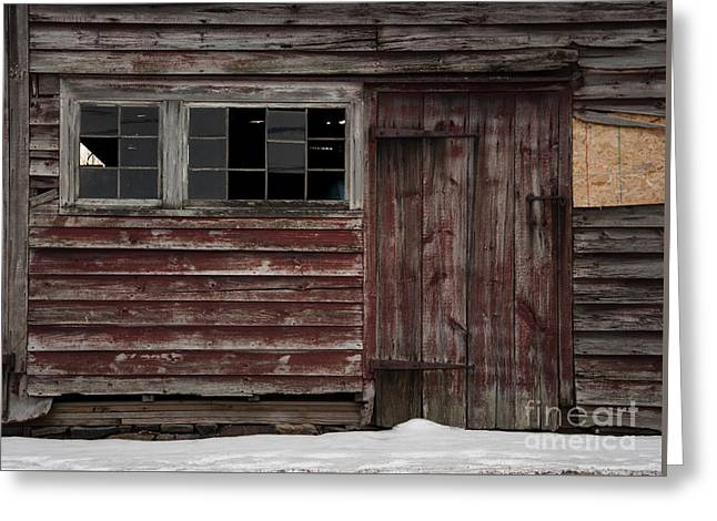 Broad Side Of A Barn Greeting Card