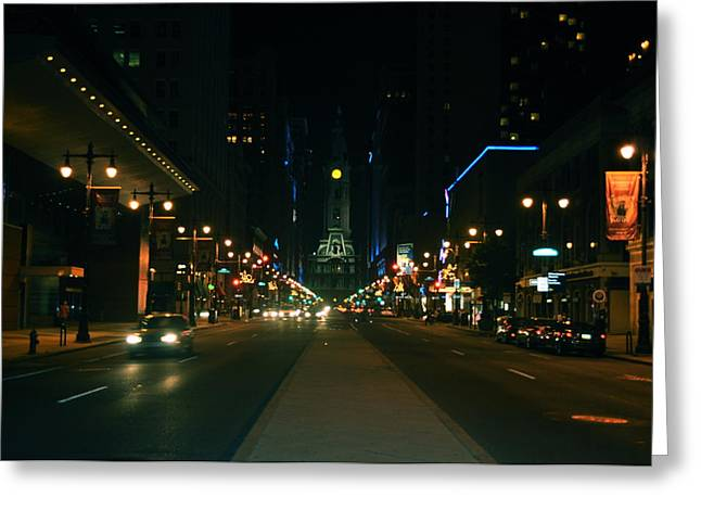 Broad Street Beauty  Greeting Card by Brynn Ditsche