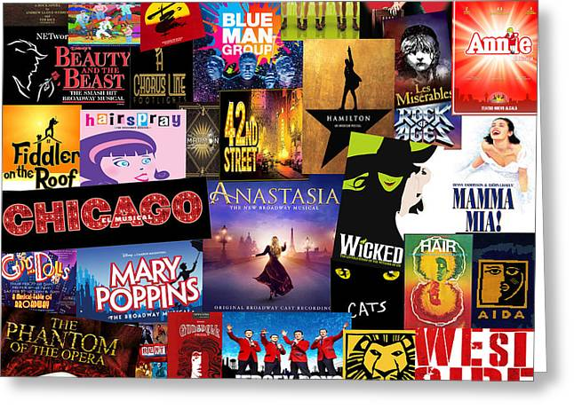 Broadway 14 Greeting Card