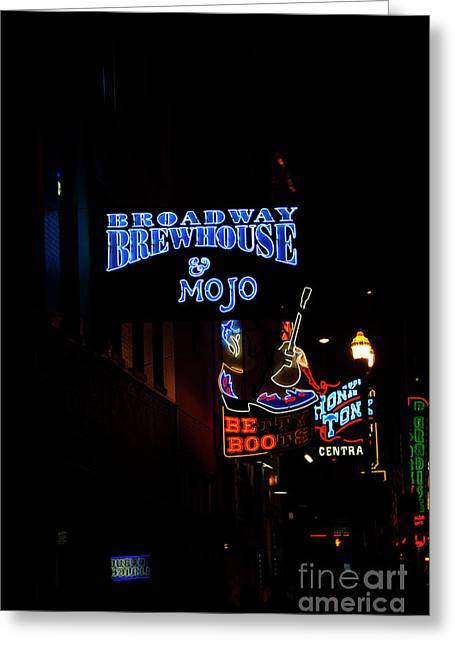 Broadway Brewhouse Greeting Card