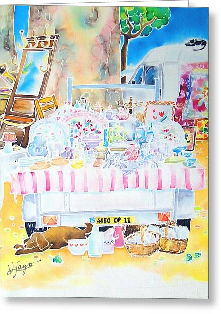 Brocante Greeting Card