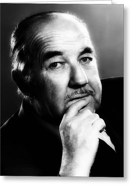 Broderick Crawford 1970 Greeting Card by Mountain Dreams