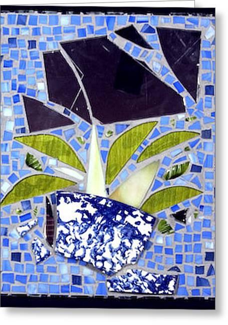 Broken Again II Greeting Card by Diane Morizio