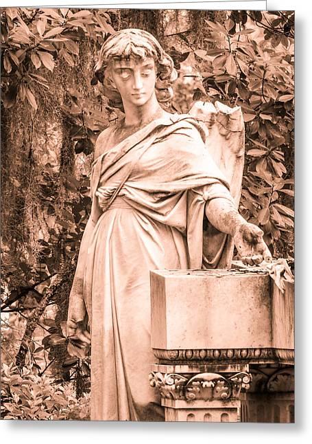 Broken Angel Greeting Card