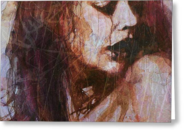Broken Down Angel Greeting Card by Paul Lovering
