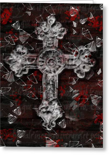 Broken Faith Greeting Card