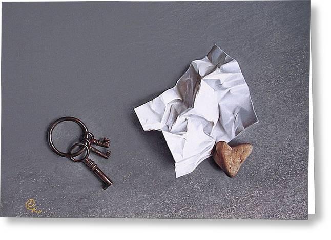 Broken Promise - 2 Greeting Card by Elena Kolotusha